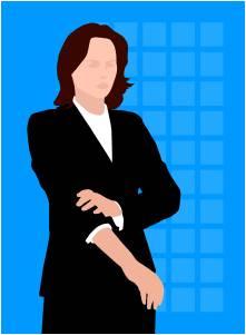 女性社員1